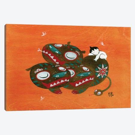Hellhound Canvas Print #MHS96} by Martin Hsu Canvas Wall Art