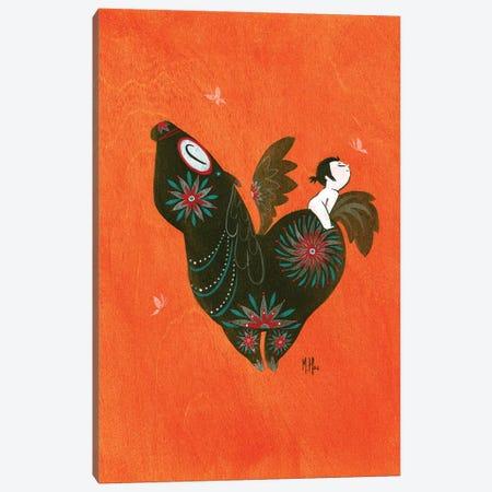 Pegasus Canvas Print #MHS98} by Martin Hsu Art Print