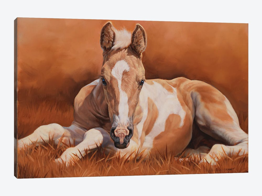 New Paint by Michelle Grant 1-piece Canvas Art Print