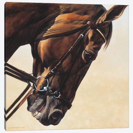 On The Diagonal Canvas Print #MHT15} by Michelle Grant Canvas Art Print