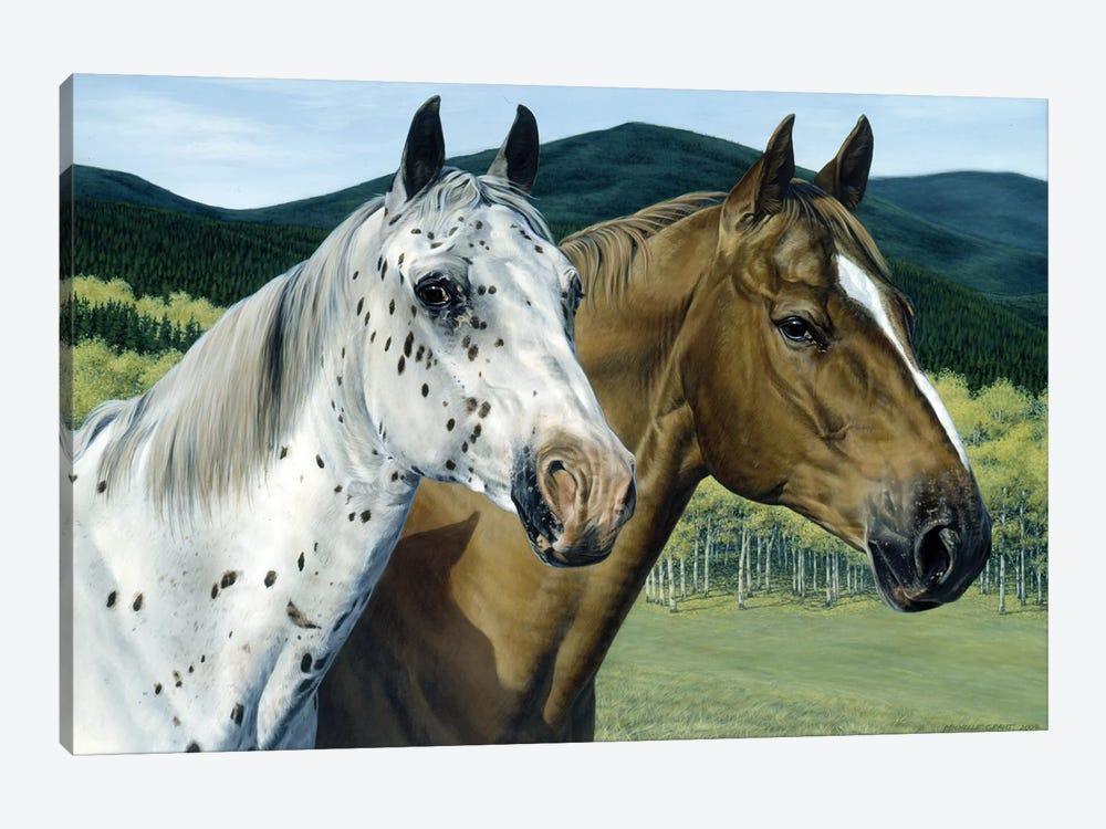 Cody & Dar II by Michelle Grant 1-piece Canvas Artwork