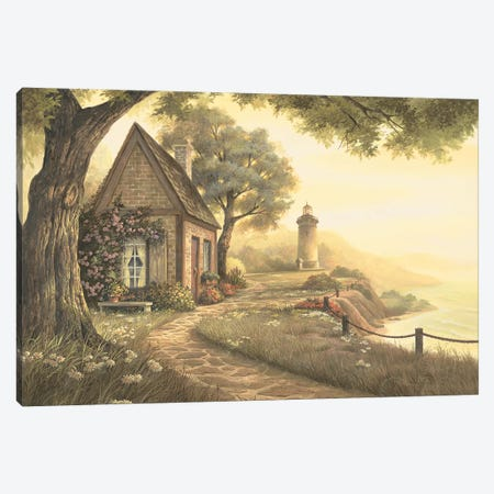 Dawns Early Light Canvas Print #MHU11} by Michael Humphries Canvas Art Print