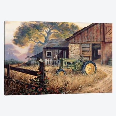 Deere Country Canvas Print #MHU13} by Michael Humphries Art Print