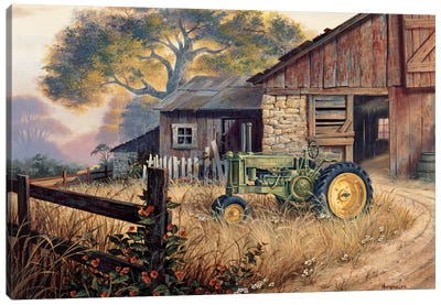 Deere Country Canvas Art Print