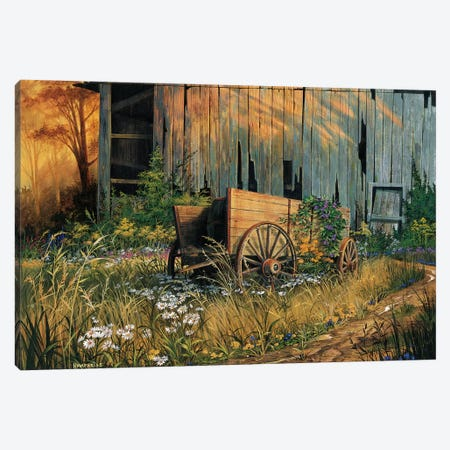 Abandoned Beauty Canvas Print #MHU1} by Michael Humphries Canvas Artwork