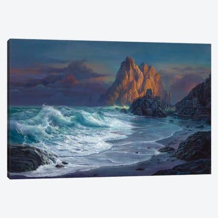 Living On The Edge Canvas Print #MHU22} by Michael Humphries Canvas Wall Art