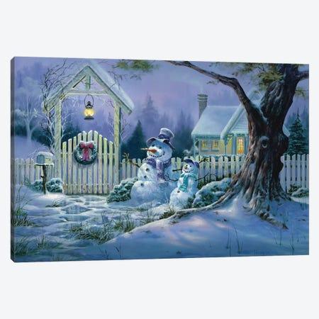 Seasons Greeters Canvas Print #MHU27} by Michael Humphries Canvas Art Print