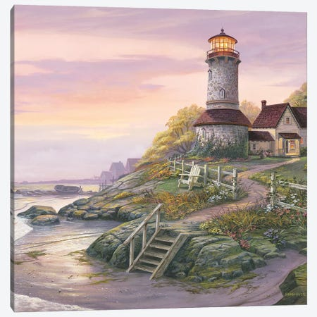 Smooth Sailing Canvas Print #MHU28} by Michael Humphries Canvas Wall Art