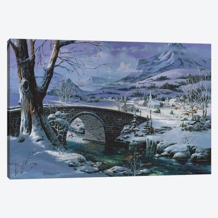 Snowy River Canvas Print #MHU30} by Michael Humphries Canvas Art Print