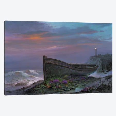 Surfside Garden Canvas Print #MHU36} by Michael Humphries Canvas Art