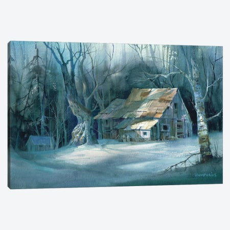 Boarded Up Canvas Print #MHU6} by Michael Humphries Canvas Print