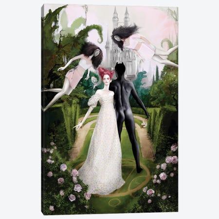 Garden Canvas Print #MHY14} by Mahyar Kalantari Canvas Art
