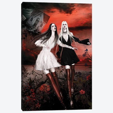 Givenchy Canvas Print #MHY15} by Mahyar Kalantari Canvas Art
