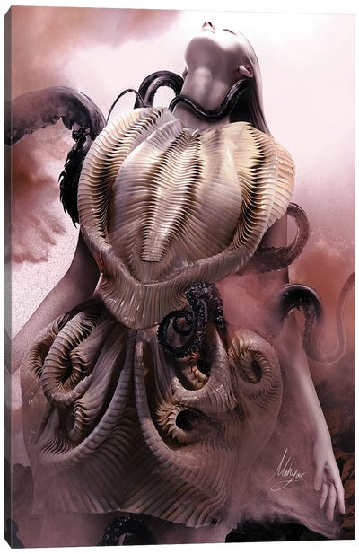 Iris Van II Canvas Art Print
