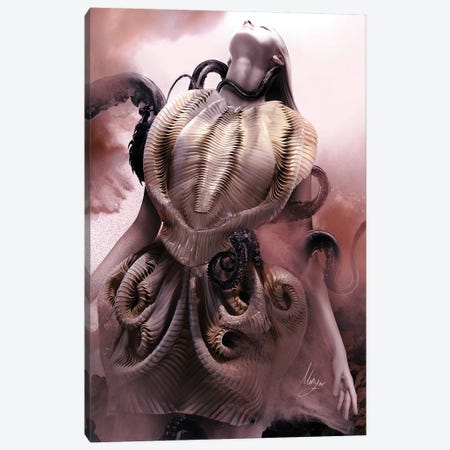 Iris Van II Canvas Print #MHY19} by Mahyar Kalantari Canvas Art Print