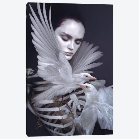 Lisa Canvas Print #MHY20} by Mahyar Kalantari Canvas Art