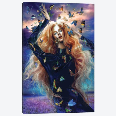 Mad Madame Mim Canvas Print #MHY22} by Mahyar Kalantari Canvas Wall Art