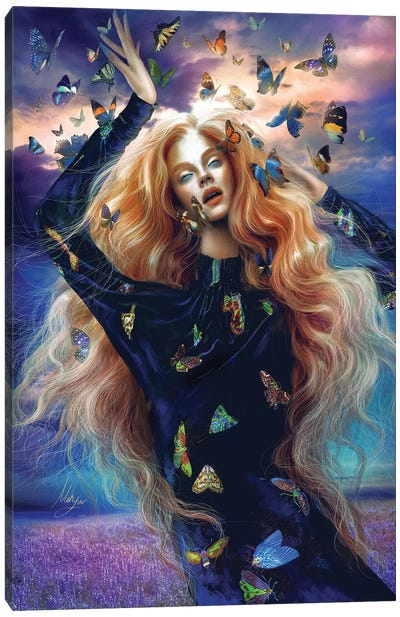 Mad Madame Mim Canvas Art Print