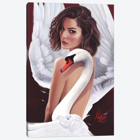 Swan Canvas Print #MHY28} by Mahyar Kalantari Canvas Art