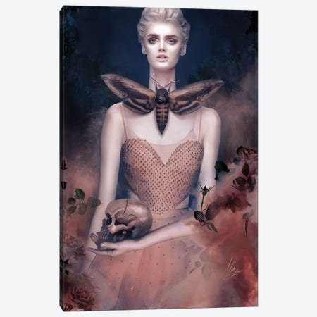 Valentino Pink Canvas Print #MHY30} by Mahyar Kalantari Canvas Print