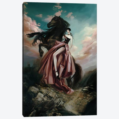 Versace Couture Canvas Print #MHY32} by Mahyar Kalantari Canvas Print
