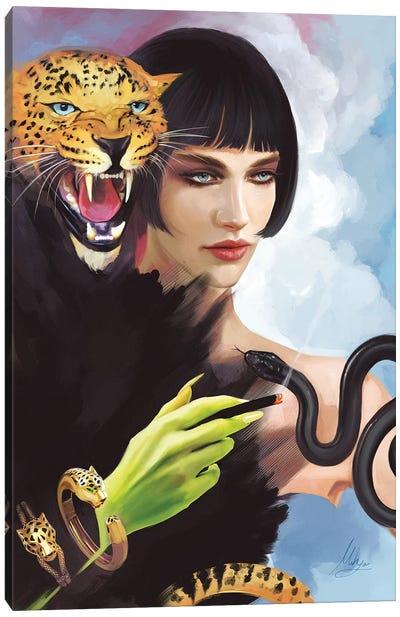 Cartier Panthere Canvas Art Print
