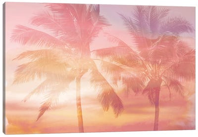 Palm Breeze I Canvas Art Print