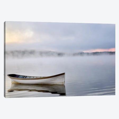 Tranquil Lake Canvas Print #MIB2} by Michael Iacobellis Canvas Art Print