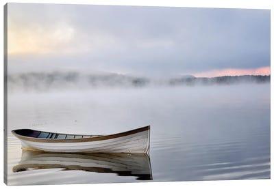 Tranquil Lake Canvas Art Print