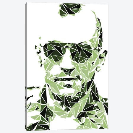 Taxi Driver Canvas Print #MIE104} by Cristian Mielu Canvas Art