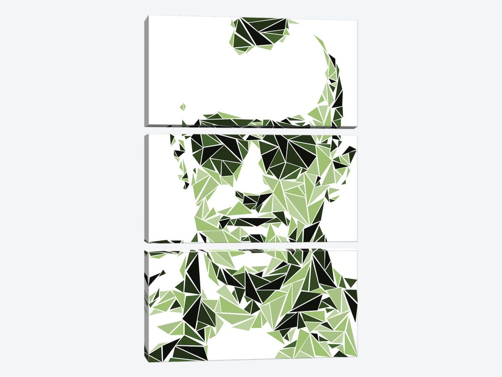 Taxi Driver by Cristian Mielu 3-piece Canvas Artwork