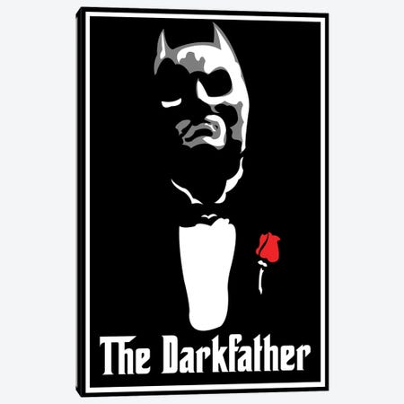 The Darkfather Canvas Print #MIE105} by Cristian Mielu Canvas Art