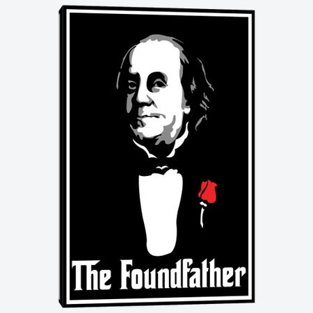 The Foundfather Canvas Print #MIE106} by Cristian Mielu Canvas Wall Art