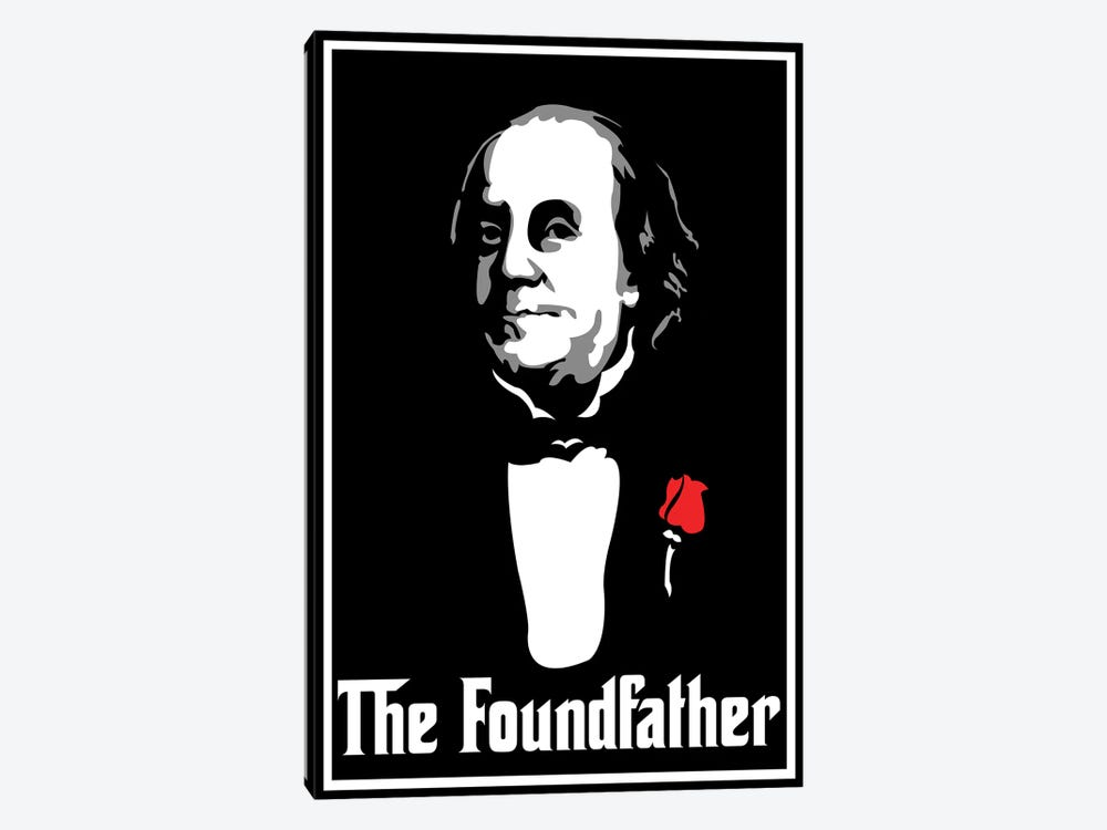 The Foundfather by Cristian Mielu 1-piece Canvas Artwork