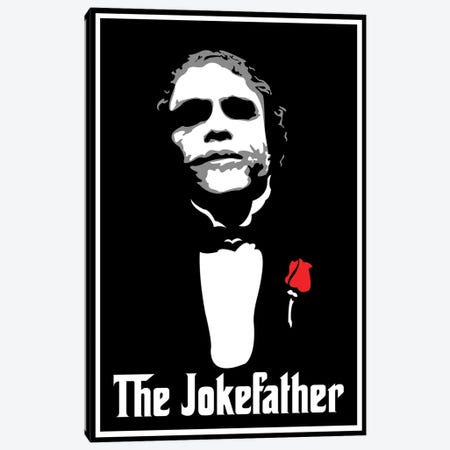 The Jokefather Canvas Print #MIE107} by Cristian Mielu Canvas Art