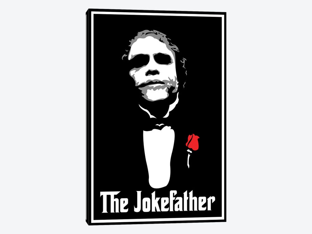 The Jokefather by Cristian Mielu 1-piece Canvas Art Print