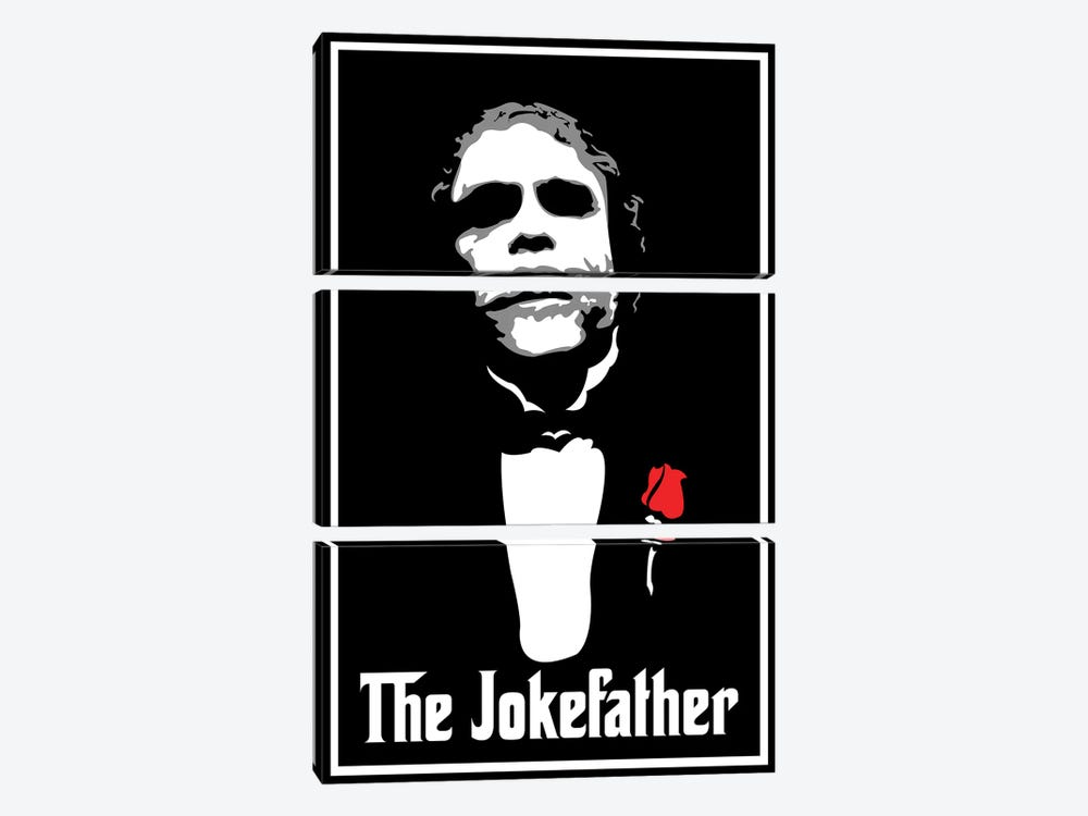 The Jokefather by Cristian Mielu 3-piece Art Print