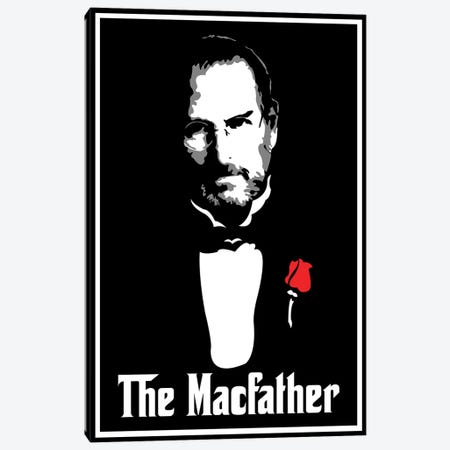 The Macfather Canvas Print #MIE108} by Cristian Mielu Canvas Art Print