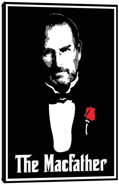 The Macfather Canvas Art Print