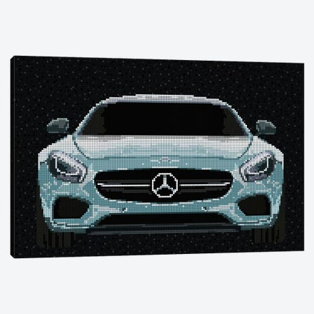 AMG GT Canvas Print #MIE110} by Cristian Mielu Canvas Artwork