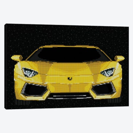 Aventador Canvas Print #MIE111} by Cristian Mielu Canvas Art