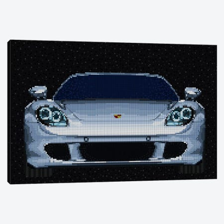 Carrera GT Canvas Print #MIE112} by Cristian Mielu Canvas Art