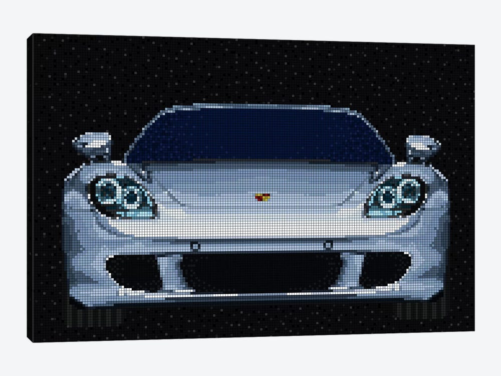 Carrera GT by Cristian Mielu 1-piece Canvas Print
