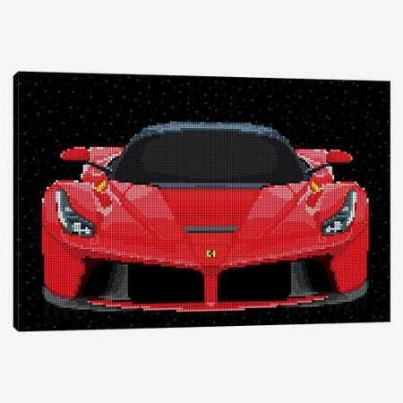 La Ferrari Canvas Print #MIE117} by Cristian Mielu Canvas Print