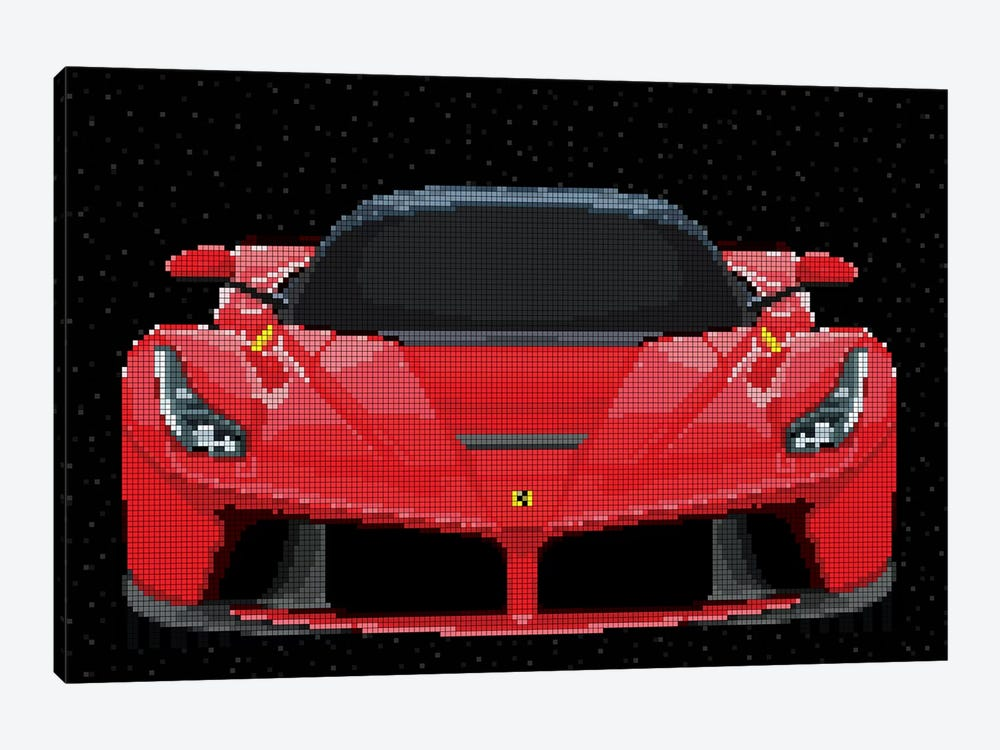 La Ferrari by Cristian Mielu 1-piece Canvas Artwork
