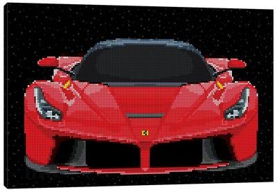 La Ferrari Canvas Art Print