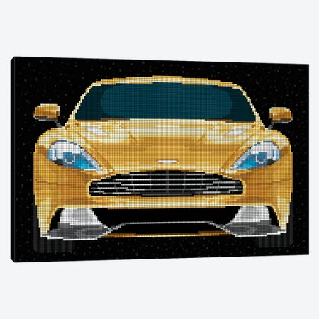 Vanquish Canvas Print #MIE124} by Cristian Mielu Canvas Wall Art