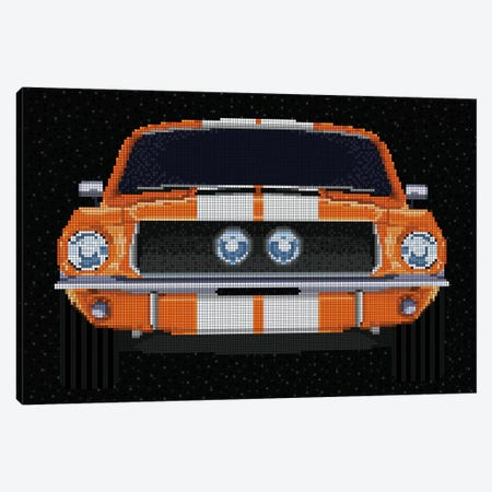 '67 Mustang Canvas Print #MIE126} by Cristian Mielu Canvas Artwork