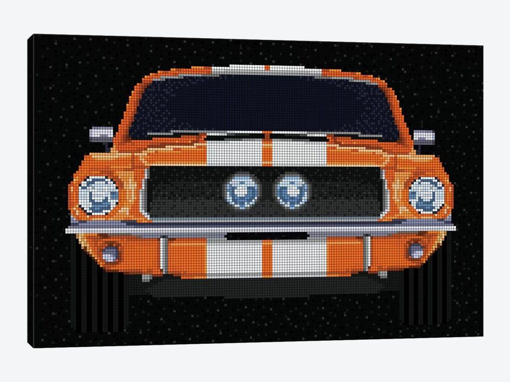 '67 Mustang by Cristian Mielu 1-piece Canvas Art