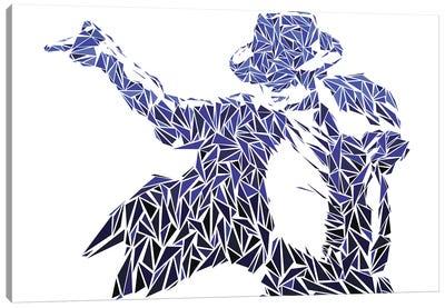 Mj - Iconic Moves Canvas Art Print